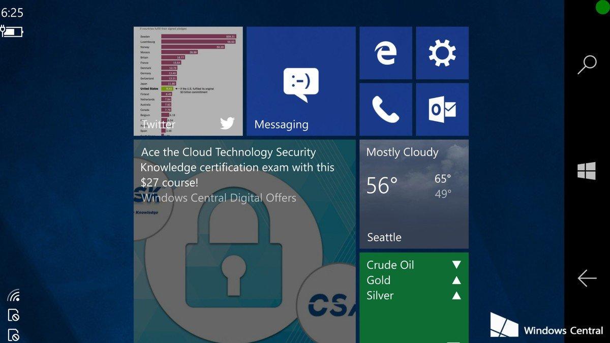 Windows 10 auf Smartphones: Wird es mit CShell endlich klappen?