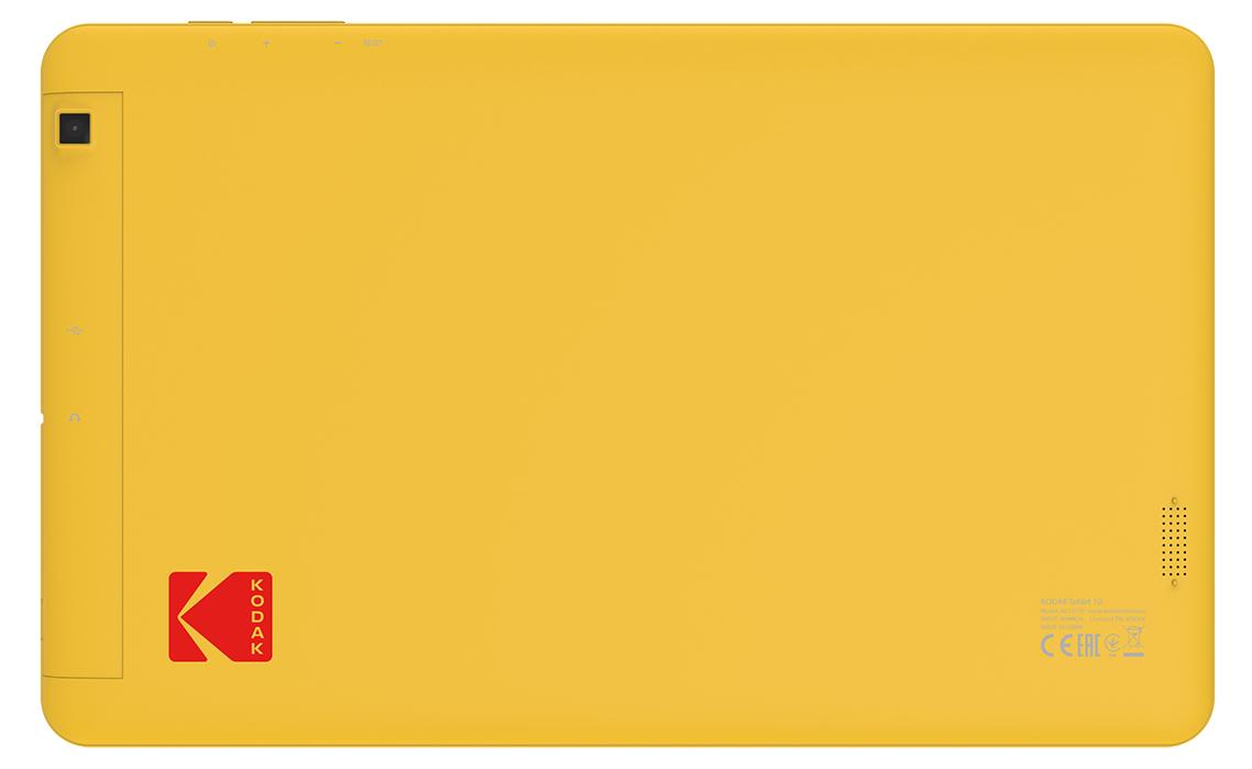 Rückseite des Kodak Tablet 10 in Kodak-Gelb (Bild: Archos/Kodak)