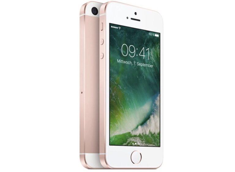 Das iPhone SE wird wohl keinen Nachfolger haben (Bild: Apple)