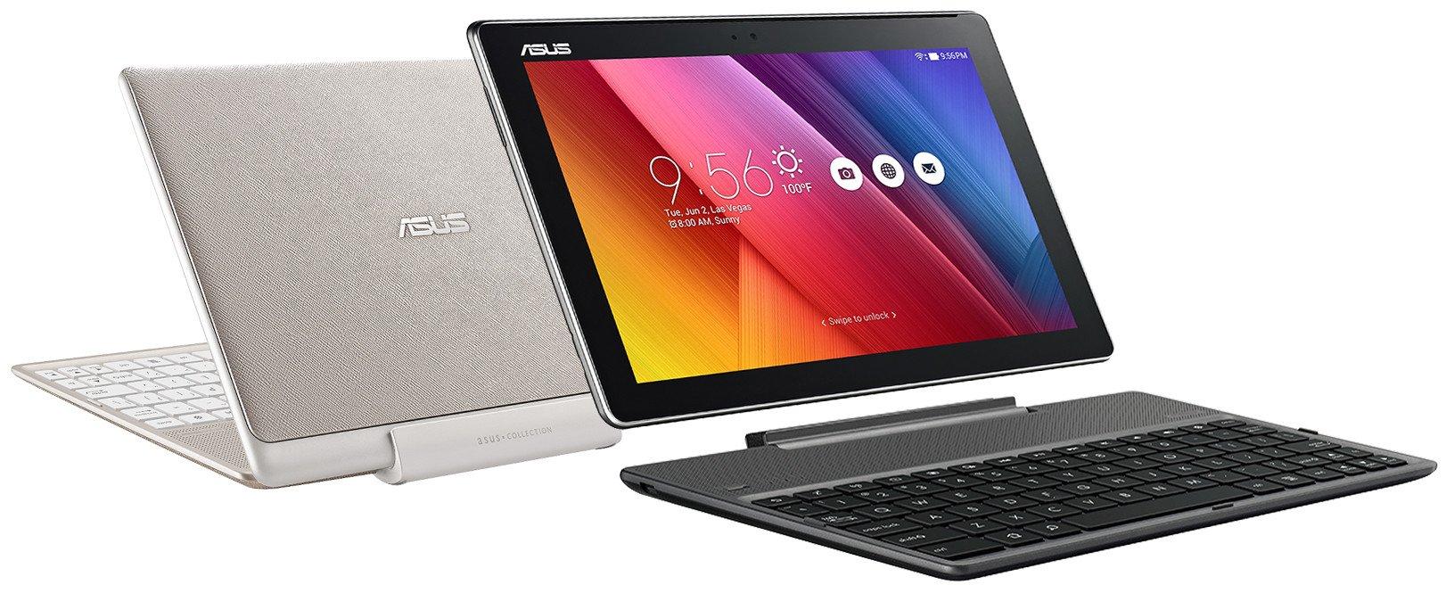 Das Asus Audio Dock macht das Tablet ZenPad 10 zum Subnotebook (Bild: Asus)