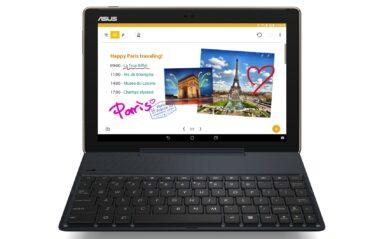 Asus ZenPad 10 mit Tastatur-Dock (Bild: Asus)