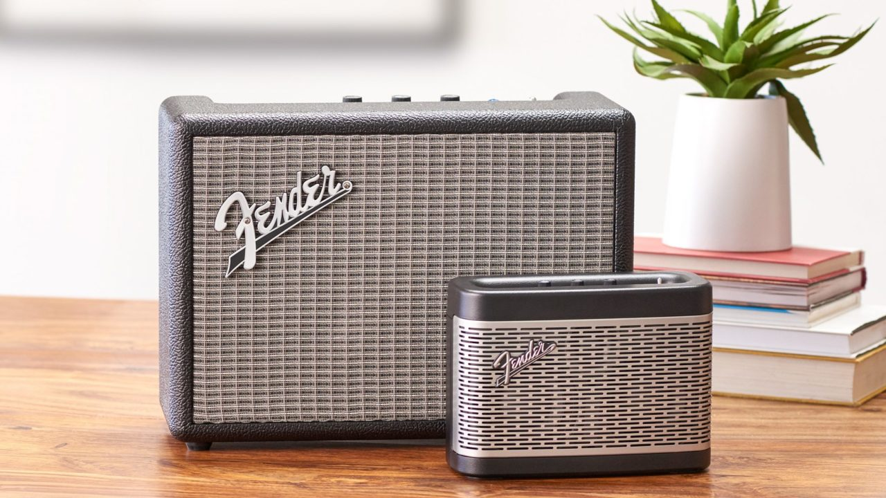Monterey und Newport: Zwei Bluetooth-Lautsprecher von Fender im Vintage-Stil