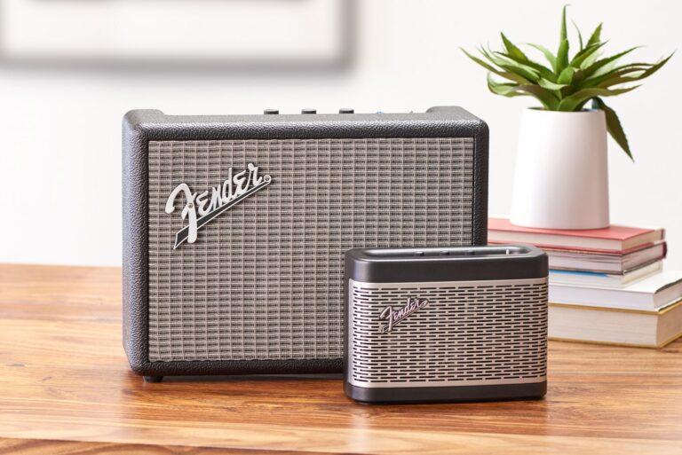 Fender Bluetooth-Lautsprecher Monterey und Newport