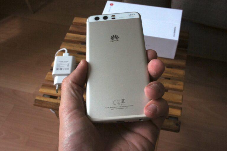 Chic, top verarbeitet und anschmiegsam: das Gehäuse des Huawei P10