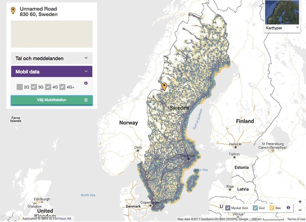Lte Netzabdeckung Karte.Mobile Office Ein Traumland Namens Schweden Euronics