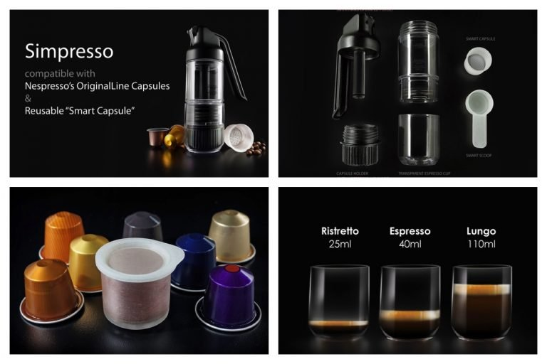 Simpresso - Espresso-Maschine mit Handbetrieb