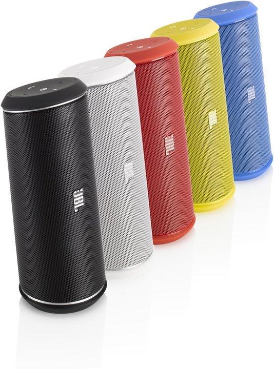 In vielen Farben erhältlich - der JBL Flip II. (Foto: JBL)