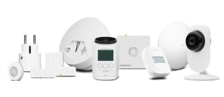 Zahlreiche Sensoren und Geräte. (Foto: Medion)