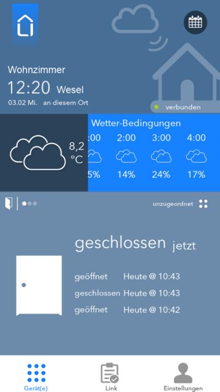 Die App. (Foto: Medion)