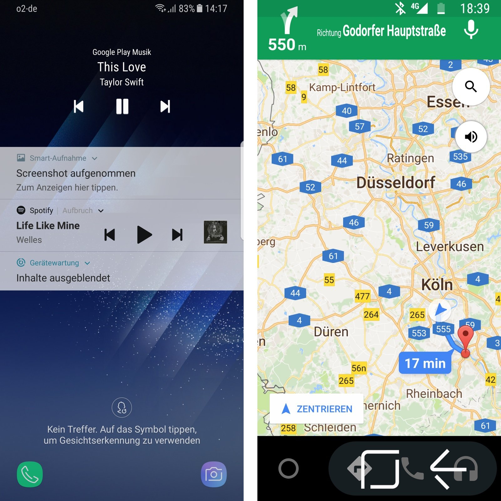 Android Auto Befehle
