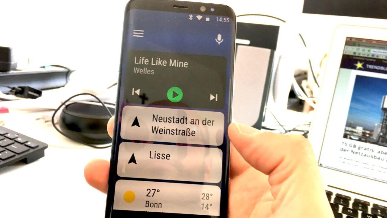 Android Auto im Test: Immerhin, ich lebe noch!