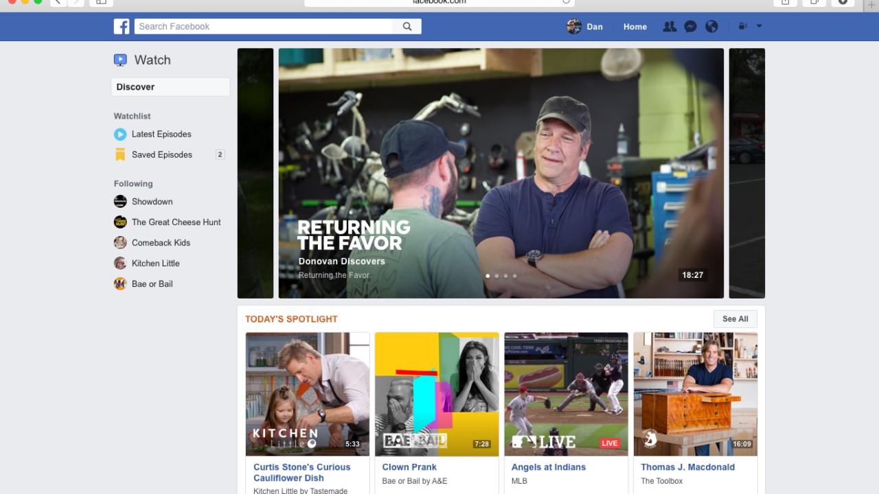 Wird Facebook Watch das neue Youtube?
