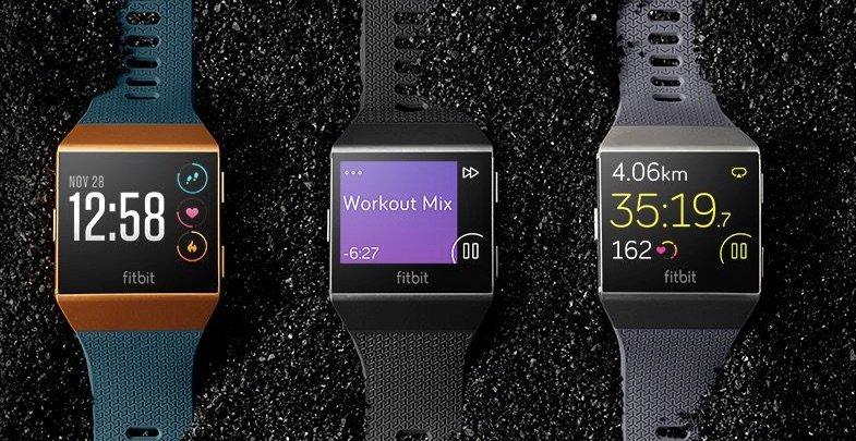 Die Fitbit Ionic läuft erstmals unter dem Betriebssystem Fitbit OS. (Bild: Fitbit)