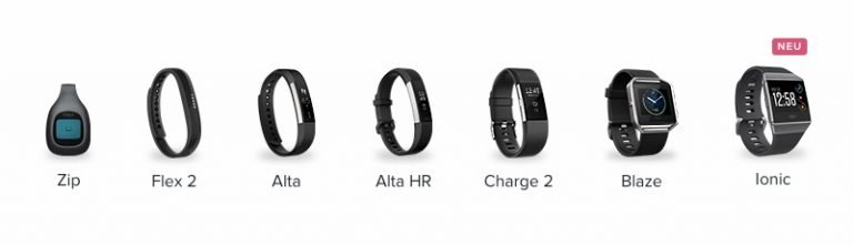Fitbit-Produktlinie