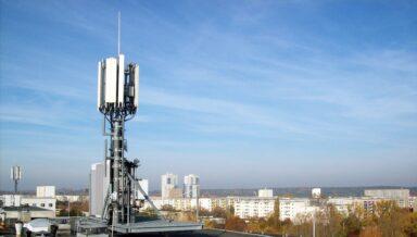 LTE-Antenne von Telefónica O2 in Halle-Neustadt (Bild: O2)