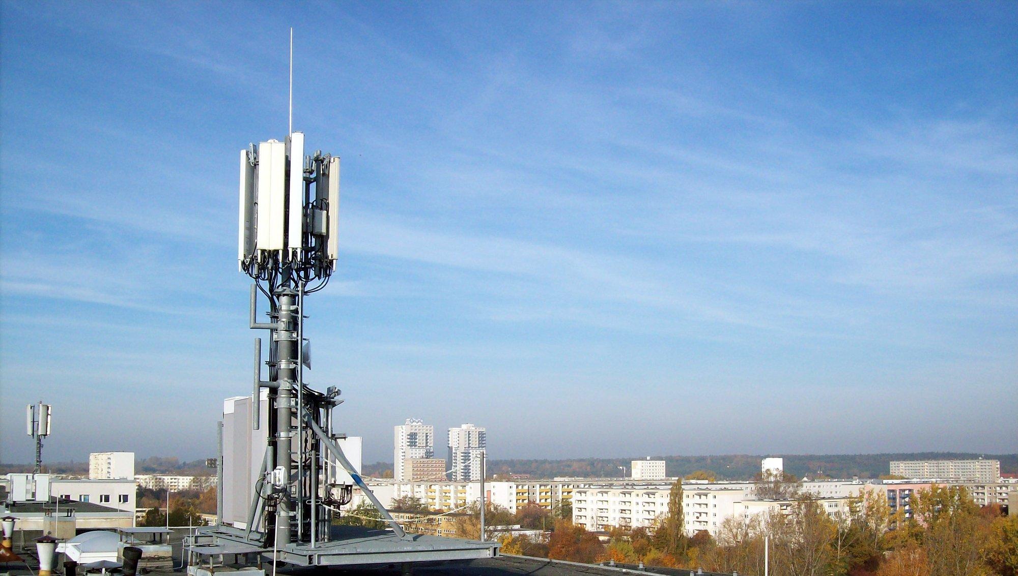5G-Funkzellen werden per Massive MIMO mehrere Antennen einsetzen, um höhere Datenraten zu ermöglichen (Bild: O2)