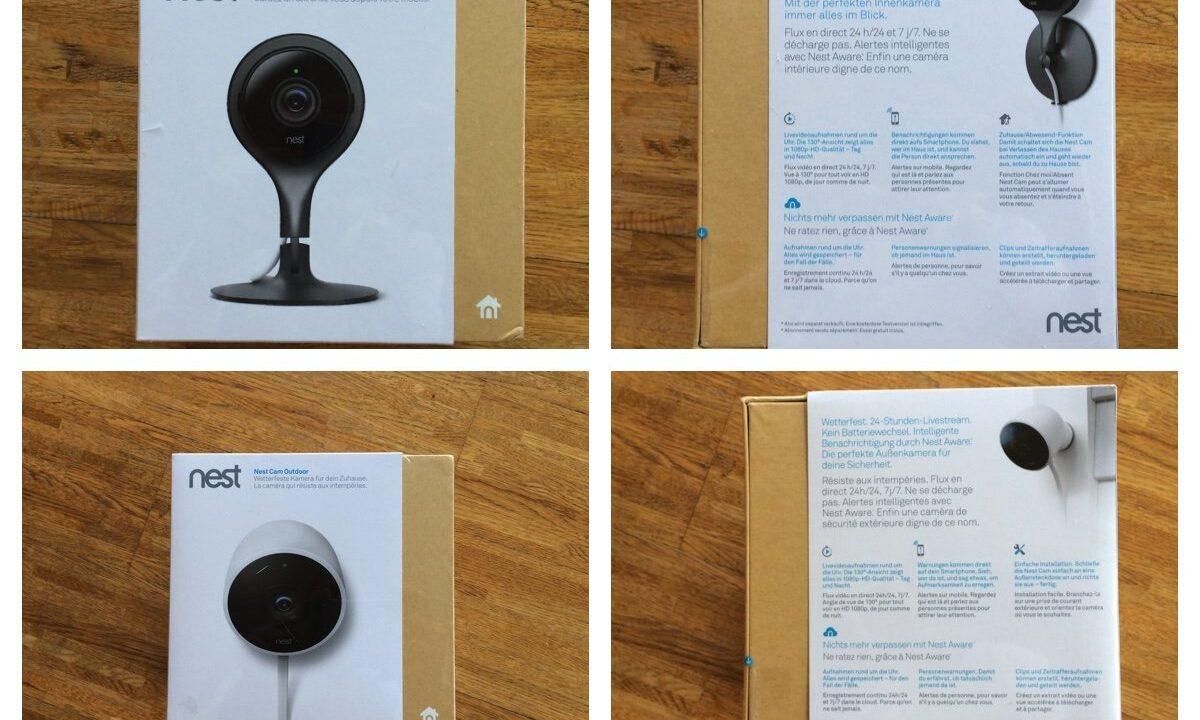 Nest Cam Sicherheitskamera für das Smart Home ausprobiert