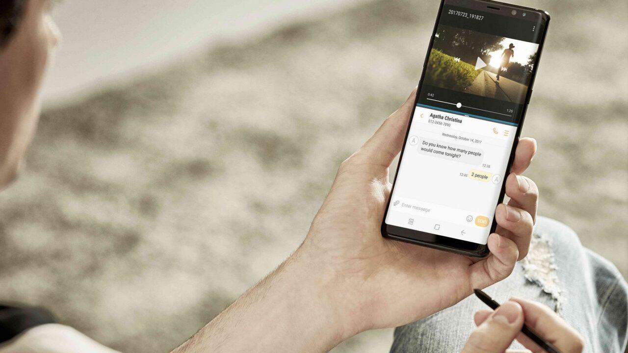 Stift und Display zeichnen das Samsung Galaxy Note 8 aus