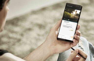 Samsung Galaxy Note 8 (Bild: Samsung)