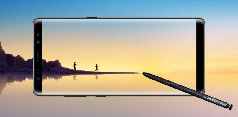 Das Samsung Galaxy Note 8 bietet viel Platz auf dem Infinity Display (Bild: Samsung)