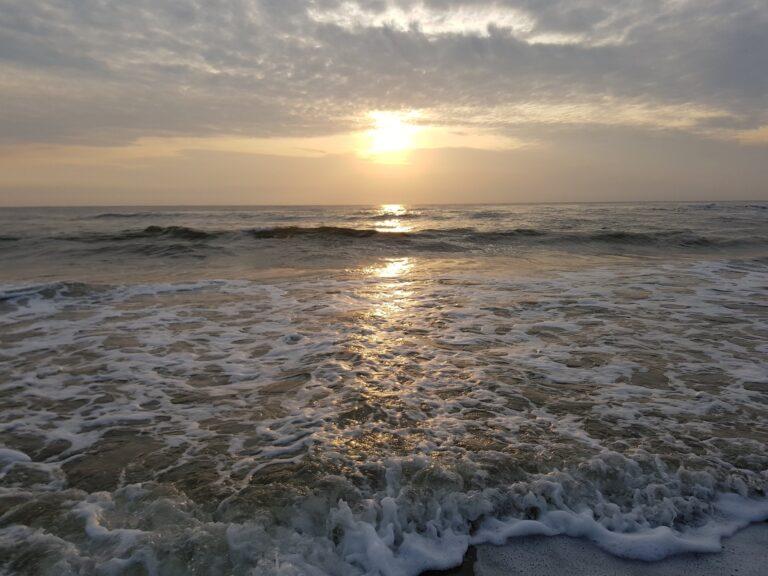 Sonnenuntergang am Meer: das Galaxy S8 meistert die Aufgabe.
