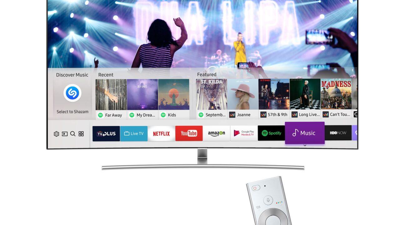 Shazam: Lasst auf eurem 2017er Samsung Smart TV Musik erkennen