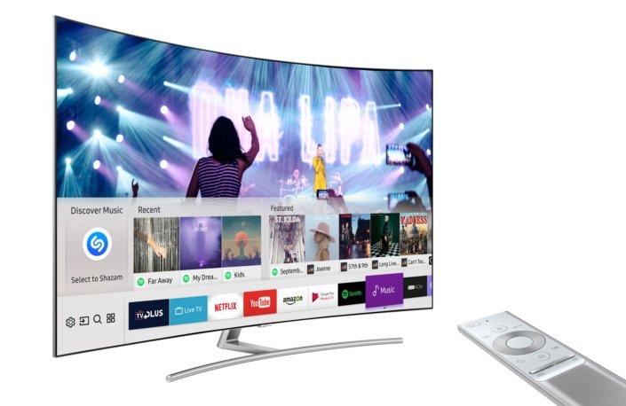 Ein aktueller Smart TV von 2017 ist nötig. (Foto: Samsung)