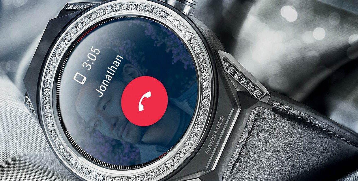 Die Tag Heuer Connected Modular 45 ist eine Smartwatch mit separatem Uhrwerk (Bild Tag Heuer)