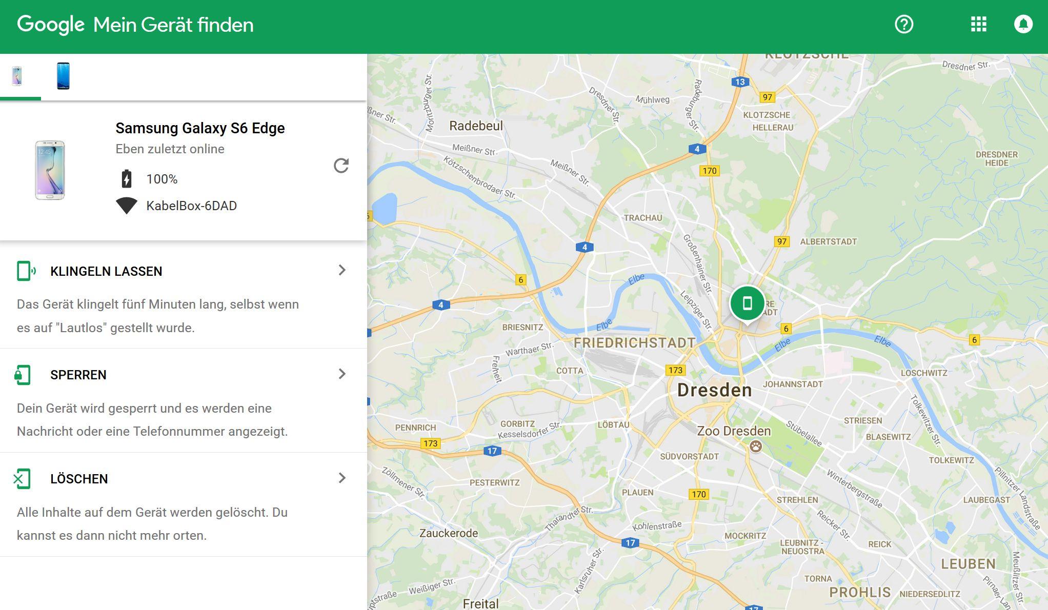 Handy orten mit Apps von Drittanbietern