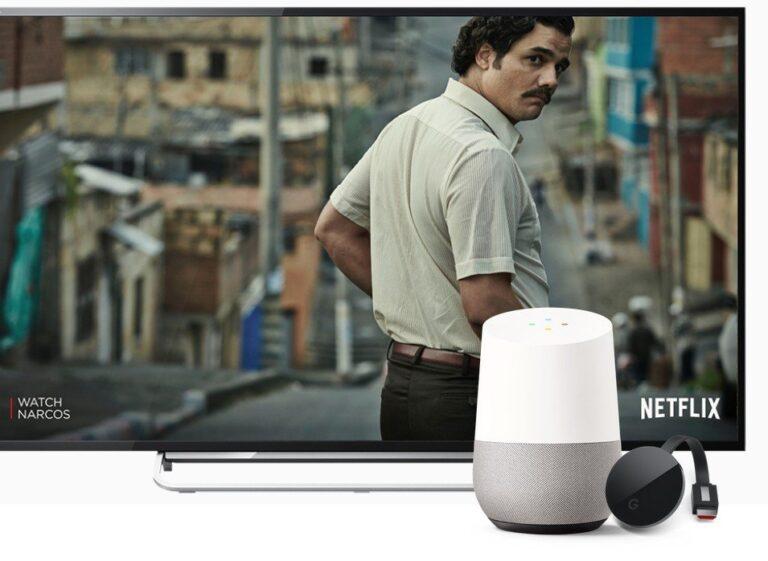 Harmoniert mit Chromecast. (Foto: Google)