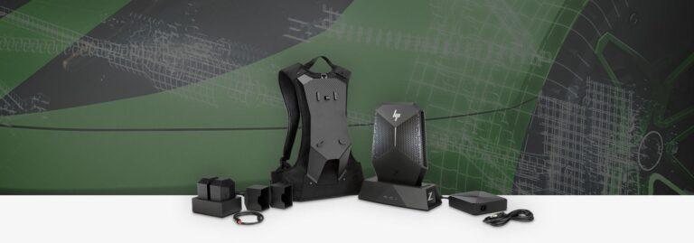 Aus dem Rucksack kann auch ein Desktop-PC werden. (Foto: HP)