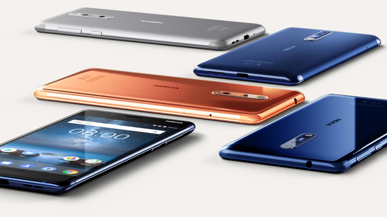Nokia 8: Luxusklasse-Smartphone mit drei Kameras. Aber wozu?