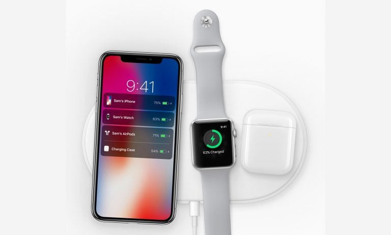 Apple AirPower mit iPhone X und der neuen Apple Watch 3