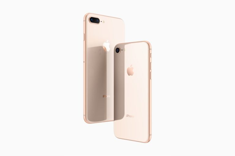 iPhone 8 und iPhone 8 Plus in gold