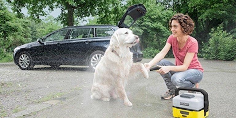 mobile outdoor cleaner oc3 k rcher 39 deinen hund. Black Bedroom Furniture Sets. Home Design Ideas