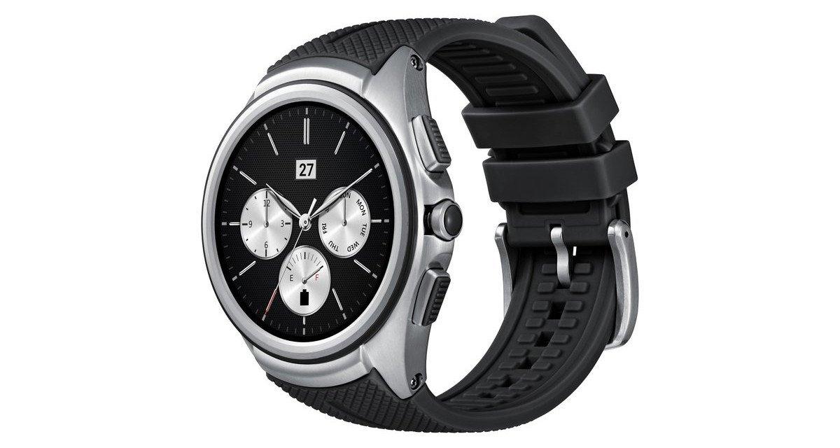 Die LG Watch Urbane läuft unter WebOS (Bild: LG)