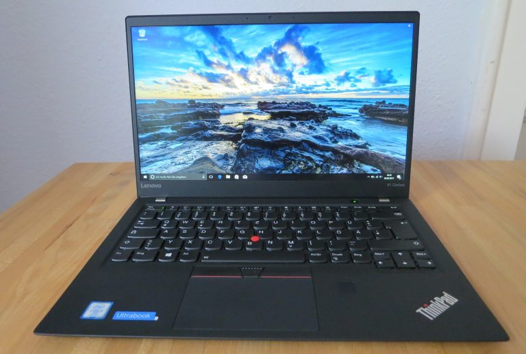 Lenovo Thinkpad X1 Carbon (Bild: Peter Giesecke)