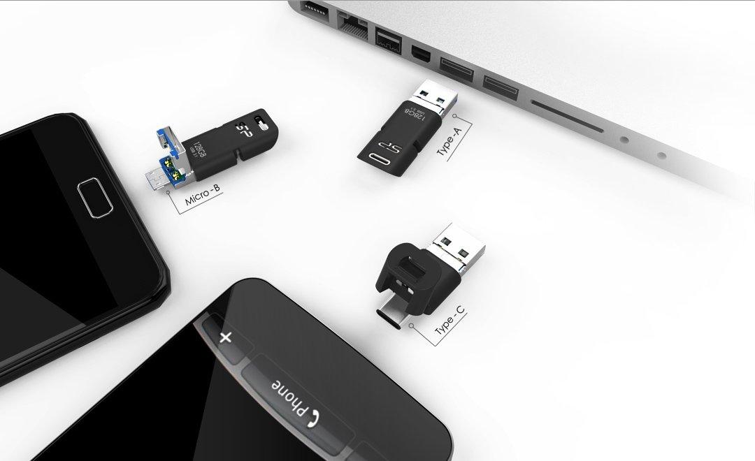 Silicon Power Mobile C50 USB-Stick: Das ABC des USB