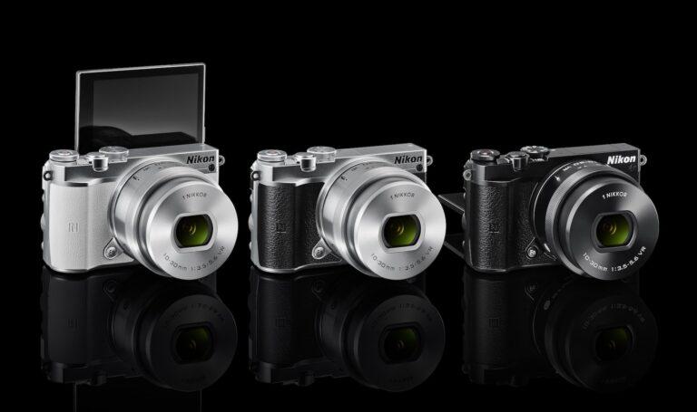 Nikon1 J5: Mit 1 Zoll für Systemkameras ein kleiner Sensor.