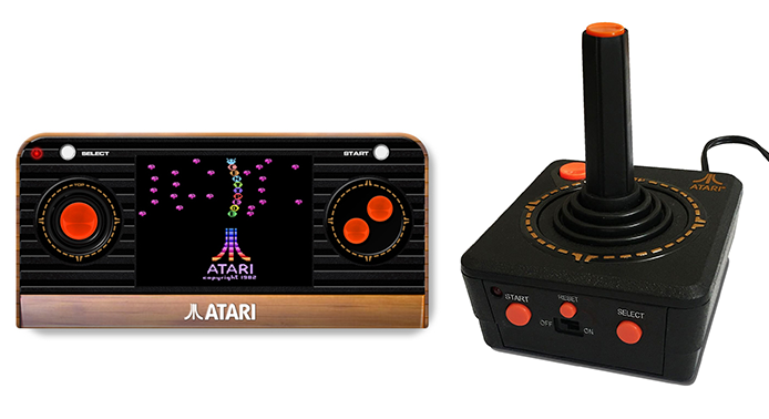Handheld und Arcade-Joystick mit integrierter Konsole. (Foto: Funstock)