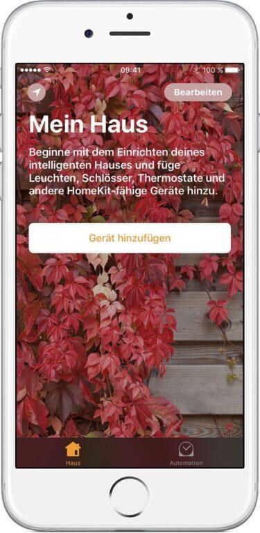 An sich wird erst einmal nur ein iPhone mit iCloud-Anbindung benötigt. (Foto: Apple)