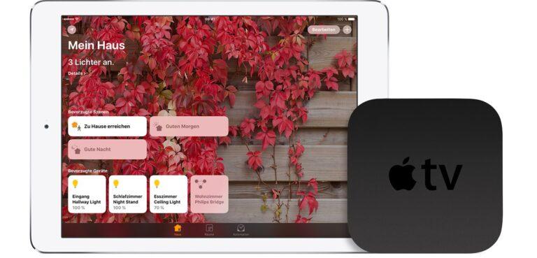Einfache Einrichtung auch am Apple TV. (Foto: Apple)