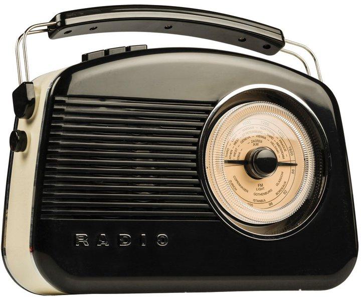 Weckt vielleicht Erinnerungen: Das Retro-Radio von König. (Foto: König)