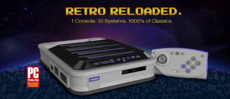 Eine Konsole für 10 Retro-Geräte. (Foto: Hyperkin)