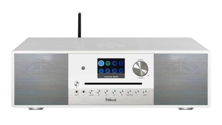 Moderne Digitalradiosysteme, hier die Block SR-100, sind in der Regel abwärtskompatibel zu DAB. Bild: Block