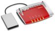 Mit einer Festplatte wird die Fritzbox zum Mediaserver (Bild: AVM)