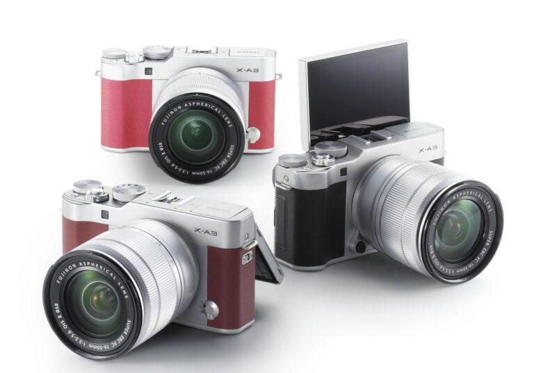 Fujifilm X-A3: Bunte, kleine Systemkameras