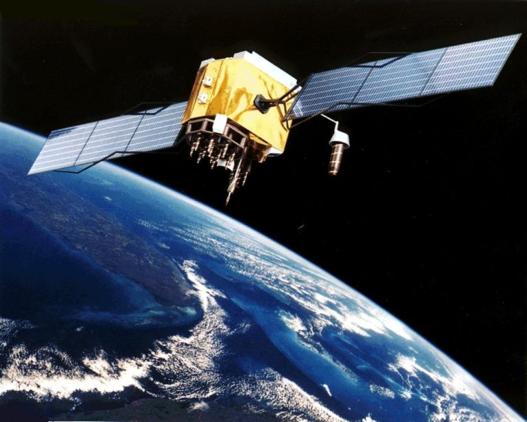 GPS-Satellit (Bild: NASA)