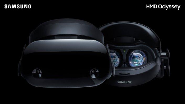 Die Highend-MR-Brille von Samsung. (Foto: Samsung)