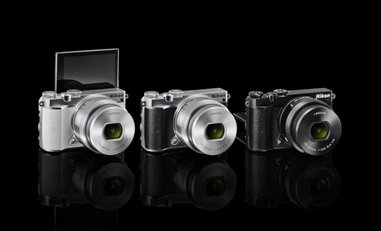 Nikon 1 J5: Die kleinste Systemkamera hier im Vergleich. Leider auch die mit dem kleinsten Sensor...